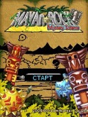 Mayan Rock Game for Java Mobile Phone