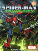 Spiderman Toxic City Game for Java Mobile Phone