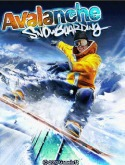 Avalanche Snowboarding Java Mobile Phone Game