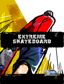 Extreme Skateboard Game for Java Mobile Phone