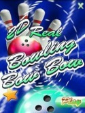 2D Real Bowling Bow Bow Java Mobile Phone Game