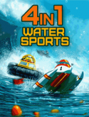 4 in 1 Ultimate Water Sports Java Mobile Phone Game