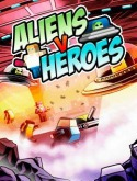 Aliens v Heroes Game for Java Mobile Phone