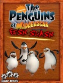 The Penguins Of Madagascar Fish Slash Java Mobile Phone Game