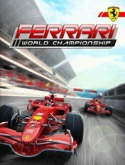 Ferrari World Championship Game for Java Mobile Phone