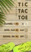 Tic Tac Toe Android Mobile Phone Game