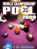 World Championship Pool 2009 3D Java Mobile Phone Game