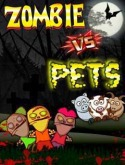 Zombie vs Pets Java Mobile Phone Game