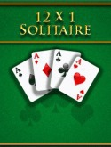 12x1 Solitaire Game for Java Mobile Phone