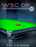World Snooker Championship 09 3D Java Mobile Phone Game