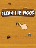 Clean the wood Java Mobile Phone Game
