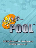 Anytime Pool Game for Java Mobile Phone