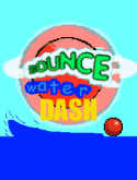 Bounce Water Dash Game for Java Mobile Phone