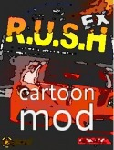 R.U.S.H. EX Cartoon mod Game for Java Mobile Phone