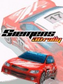 Siemens 3D Rally Game for Java Mobile Phone