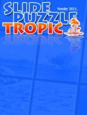 Slide Puzzle Tropic Java Mobile Phone Game