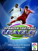 Spanish Football League 2009 3D Java Mobile Phone Game