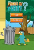 Where's My Perry? iOS Mobile Phone Game