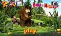 Masha and the Bear. Puzzles Android Mobile Phone Game