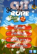 Cut the Rope Holiday Gift iOS Mobile Phone Game