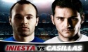 Iniesta VS. Casillas Android Mobile Phone Game