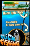 Flick Fishing Apple iPhone 6 Game