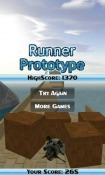 Runner Prototype Android Mobile Phone Game
