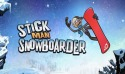 Stickman Snowboarder Android Mobile Phone Game