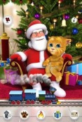Talking Santa meets Ginger Game for Android Mobile Phone