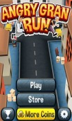 Angry Gran Run Android Mobile Phone Game