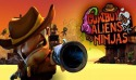 Cowboy vs. Ninjas vs. Aliens Android Mobile Phone Game