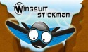 Wingsuit Stickman Android Mobile Phone Game