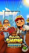 Subway surfers: World tour Sydney Android Mobile Phone Game
