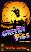 Greedy Pigs Halloween Android Mobile Phone Game