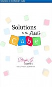 Solutions to the Rubik's Cube Game for LG Optimus L3 II Dual
