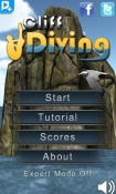 Cliff Diving 3D Android Mobile Phone Game