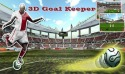 3D Goal keeper Game for Android Mobile Phone