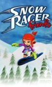 Snow Racer Friends Android Mobile Phone Game