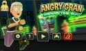 Angry Gran RadioActive Run Android Mobile Phone Game