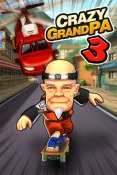 Crazy Grandpa 3 Android Mobile Phone Game
