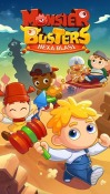 Monster Busters: Hexa Blast Android Mobile Phone Game
