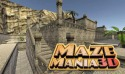 Maze Mania 3D: Labyrinth Escape Android Mobile Phone Game