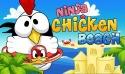 Ninja Chicken: Beach Samsung Galaxy Pocket S5300 Game