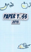 Paper Toss 2015 Android Mobile Phone Game