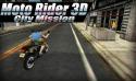 Moto Rider 3D: City Mission QMobile NOIR A2 Game