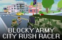 Blocky Army: City Rush Racer Android Mobile Phone Game