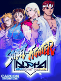 Street Fighter: Alpha Warriors' Dreams Samsung Z630 Game