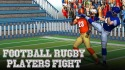 Football Rugby Players Fight Android Mobile Phone Game