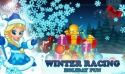 Winter Racing: Holiday Fun Android Mobile Phone Game