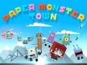 Paper Monster Town Android Mobile Phone Game